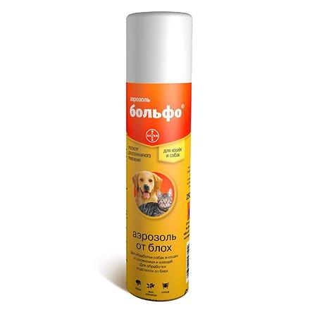 Препарат инсектоакарицидный для кошек и собак BAYER Больфо аэрозоль 250мл