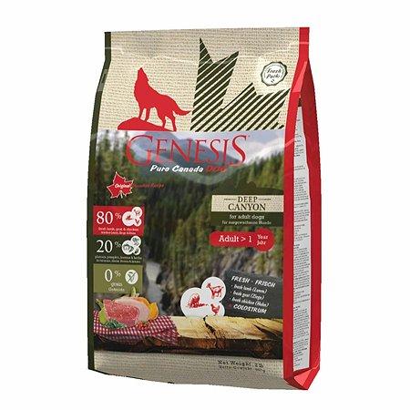 Корм для собак Genesis Pure Canada Deep Canyon Adult с курицей ягненком и козой 907г