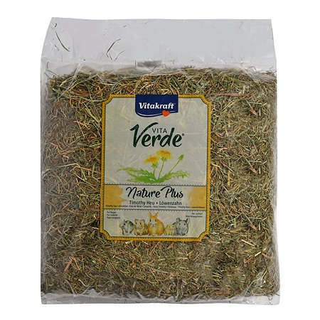 Лакомство для грызунов Vitakraft Vita Verde Сено луговое с цветами одуванчика 500г 13067