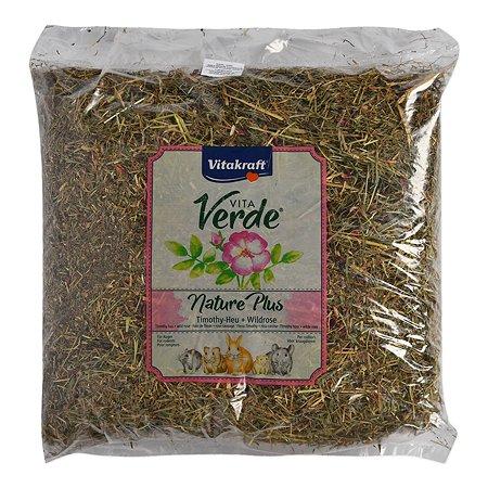 Лакомство для грызунов Vitakraft Vita Verde Сено луговое с цветами шиповника 500г 13070