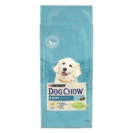 Корм для щенков Dog Chow с курицей 14кг