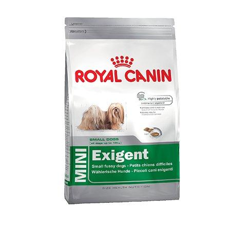 Корм для собак ROYAL CANIN Exigent мелких пород привередливых в питании 4кг