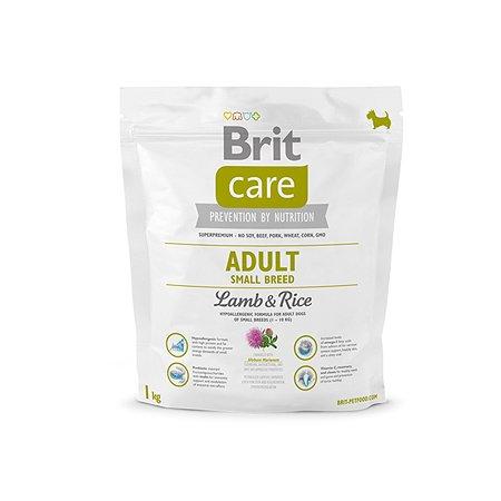 Корм для собак Brit Care мелких пород с ягненокм и рисом 1кг