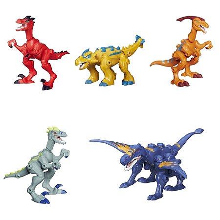 Фигурки динозавров HEROMASHERS разборные в ассортименте