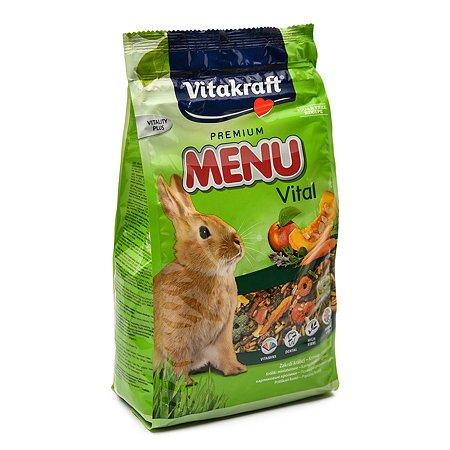 Корм для кроликов Vitakraft Menu 1кг 10645