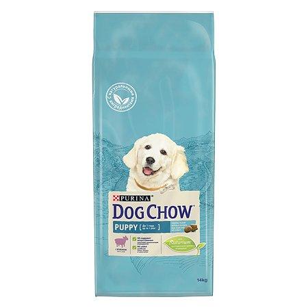 Корм для щенков Dog Chow с ягненком 14кг