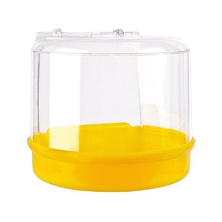 Купалка для птиц IMAC Bagno Esterno большая Желтая