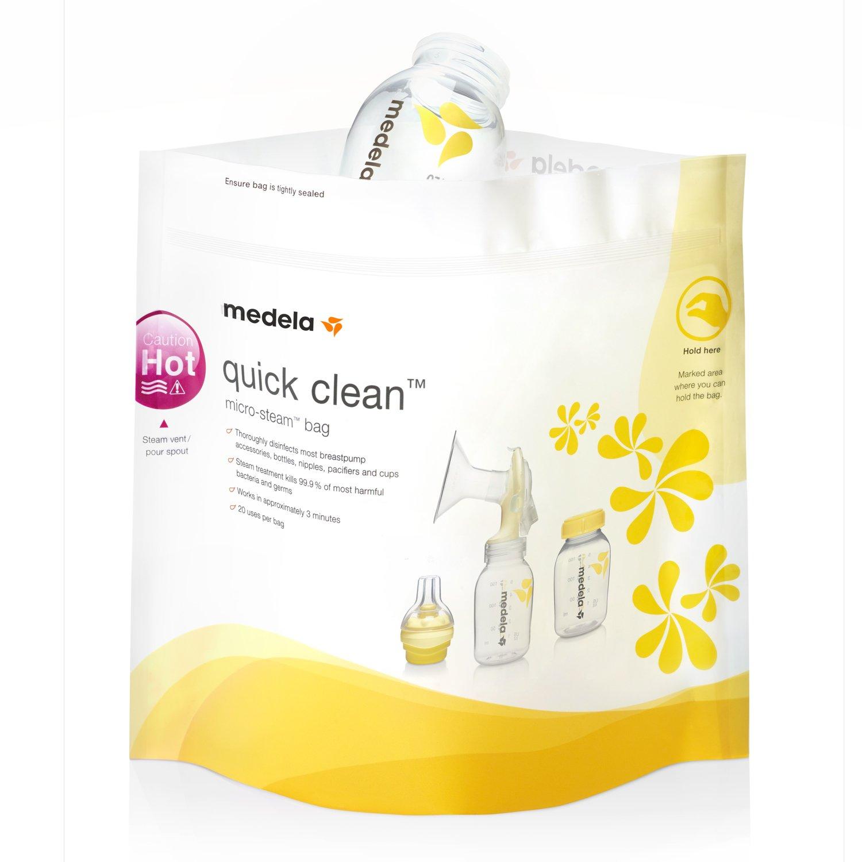 3ddbd45ed Пакеты для стерилизации Medela в СВЧ Quick Clean 5 шт - купить в ...