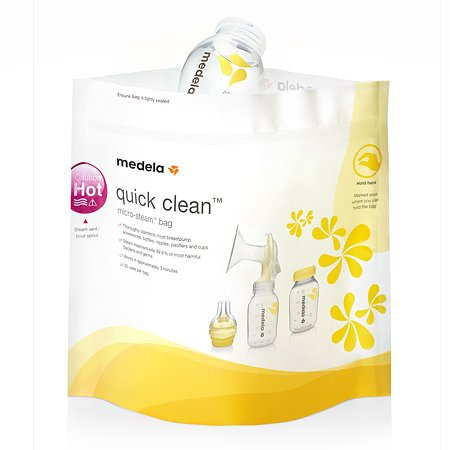 Пакеты для стерилизации Medela в СВЧ Quick Clean 5 шт