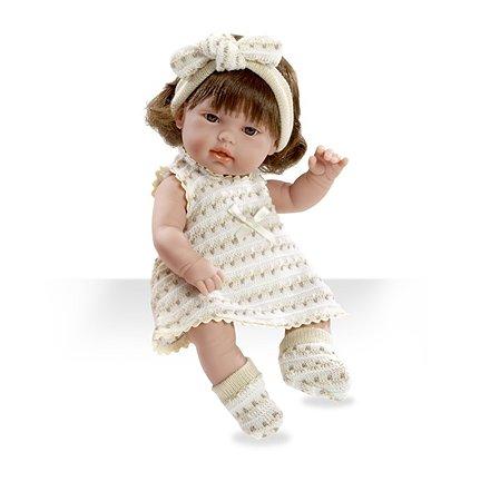 Кукла Arias ELEGANCE 33 см в белом-бежевом