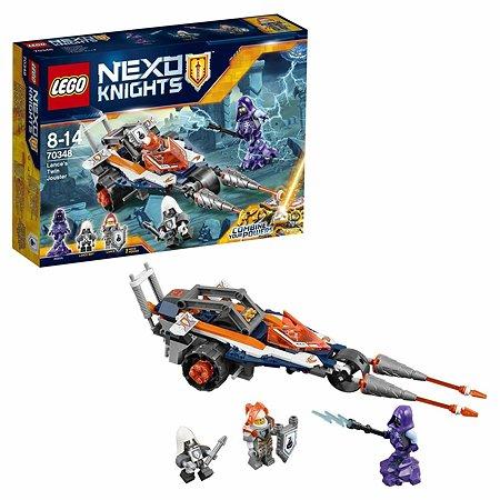 Конструктор LEGO Nexo Knights Турнирная машина Ланса (70348)