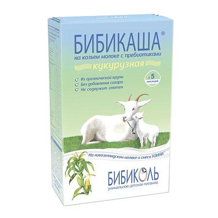 Каша Бибиколь БибиКаша кукурузная козье молоко 200г 5месяцев