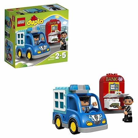 Конструктор LEGO DUPLO Town Полицейский патруль (10809)