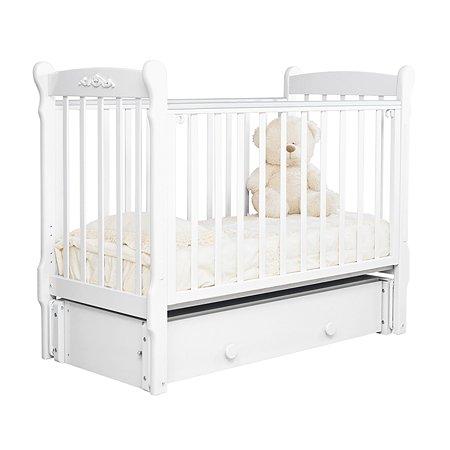 Кровать детская Красная Звезда (Можга) Артем С579 белый
