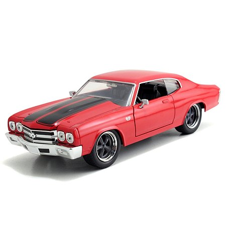 Машинка Fast and Furious Форсаж-8 1:24 1970 Chevy Chevelle SS