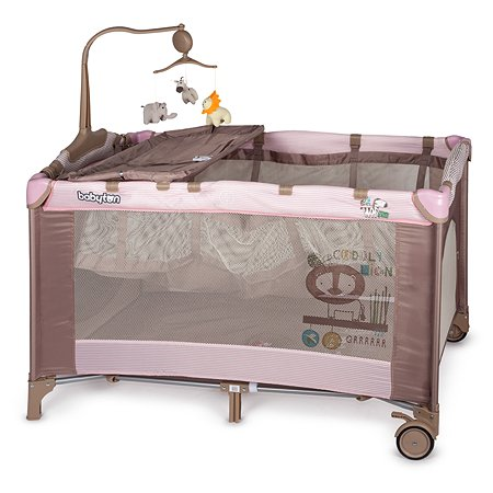 Манеж-кровать Babyton Pink