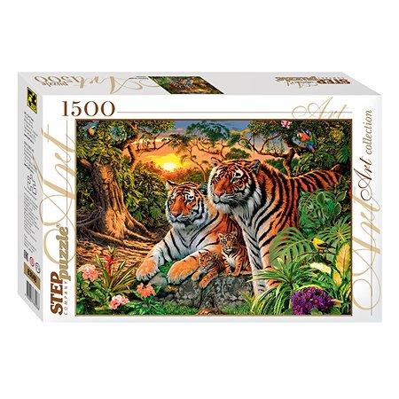 Пазл Step Puzzle Сколько тигров? 1500элементов 83048
