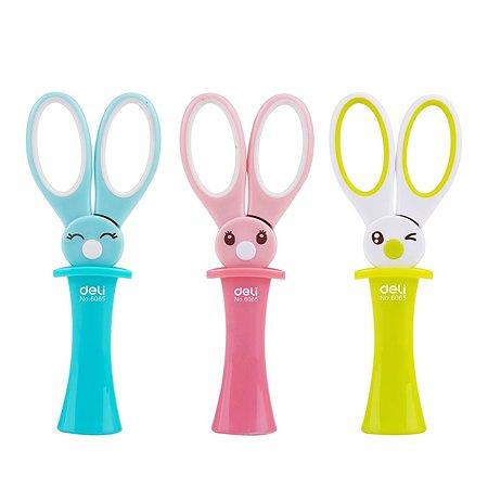 Ножницы Deli E6065 Magic Rabbit детские 13,7 см в ассортименте