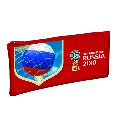 Пенал Hatber 2018 FIFA World Cup Russia TM мягкий на молнии Npk_38154