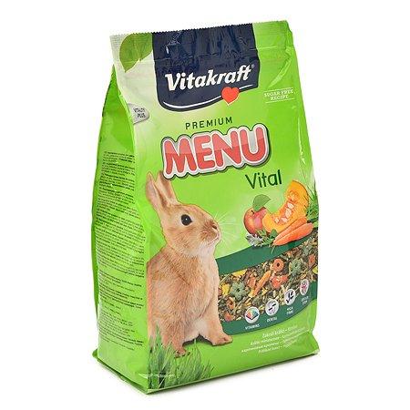 Корм для кроликов Vitakraft Menu 3кг 18118