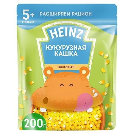 Каша молочная Heinz кукурузная 200г с 5месяцев