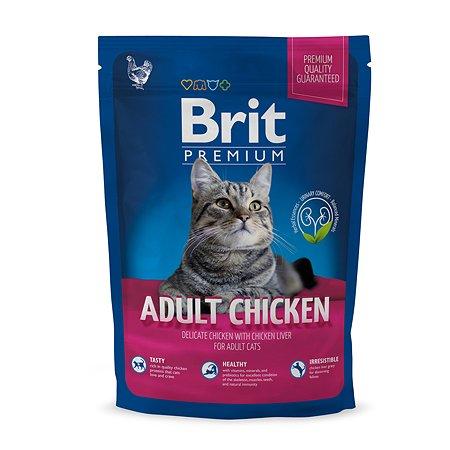 Корм для кошек Brit Premium курица 1.5кг