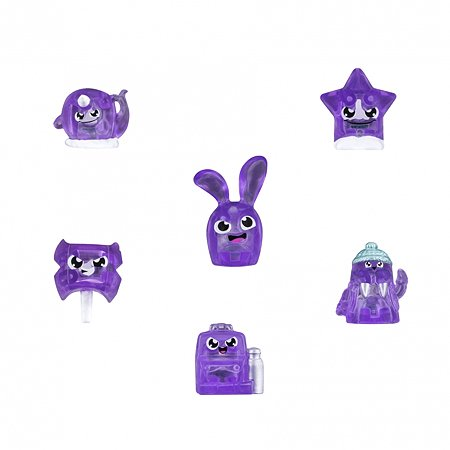 Набор фигурок HANAZUKI 6 фигурок сокровищ в упаковке Яркий Пурпур (B8451EU4)