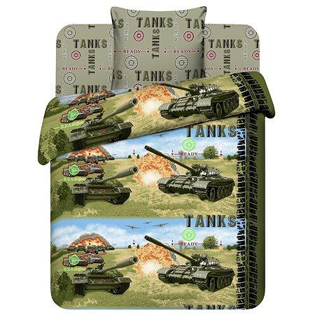 Комплект постельного белья Твой Стиль 1.5сп 3предмета 5336
