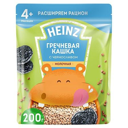 Каша молочная Heinz гречневая с черносливом 200г с 4месяцев