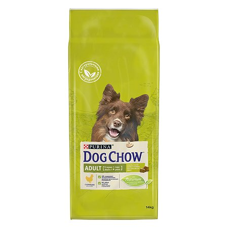 Корм для собак Dog Chow Adult с курицей 14кг