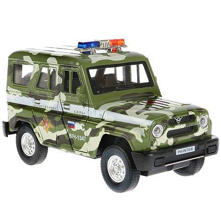 Машина Технопарк Uaz Hunter Военная техника инерционная 267168