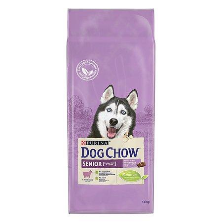 Корм для собак Dog Chow пожилых с ягненком 14кг