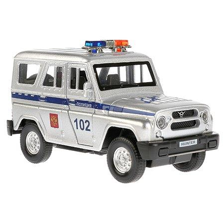 Машина Технопарк Uaz Hunter Полицейская инерционная 267169