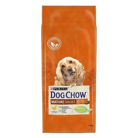 Корм для собак Dog Chow Mature с курицей 14кг