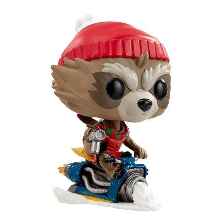 Игрушка Funko Pop Bobble Marvel holiday Rocket Fun2506