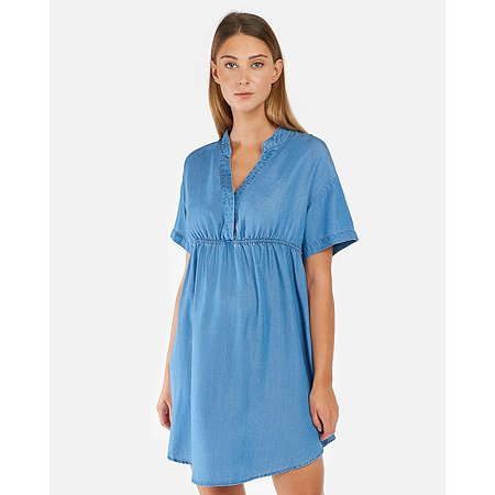 Платье для беременных Futurino Mama голубое