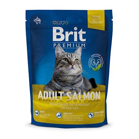 Корм для кошек Brit Premium лосось 300г