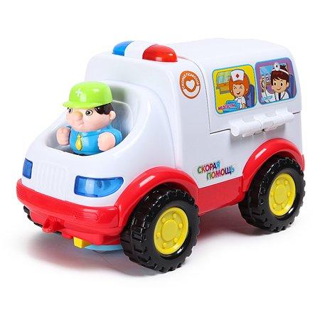 Игрушка развивающая Baby Go Машина скорой помощи OTC0059234