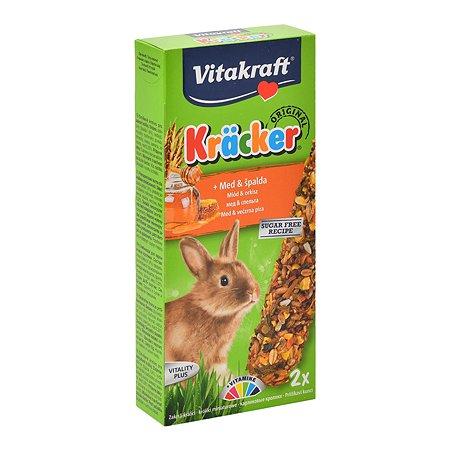 Лакомство для кроликов Vitakraft Крекеры медовые 2шт 10627