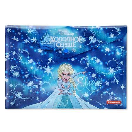 Папка-конверт Disney Холодное сердце Эльза и волшебство Северного Сияния 45155