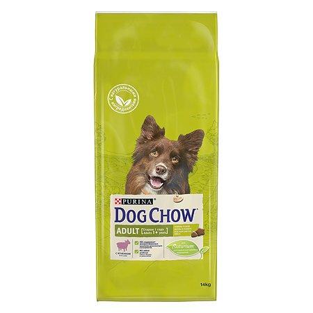 Корм для собак Dog Chow с ягненком 14 кг