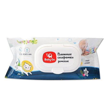 Салфетки влажные Baby Go 120шт 30896