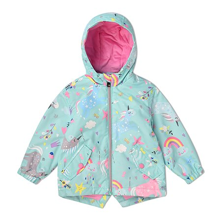 Куртка BabyGo мятная
