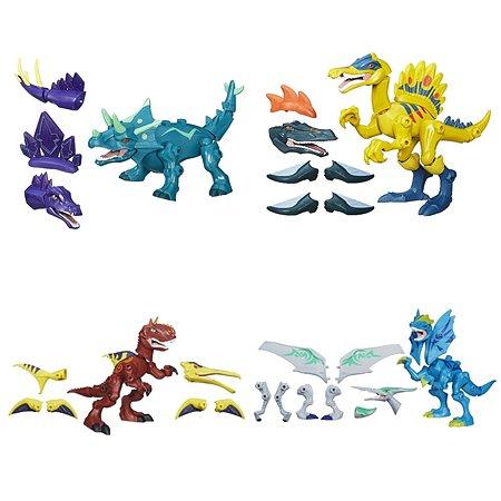Улучшенные фигурки динозавров HEROMASHERS разборные в ассортименте
