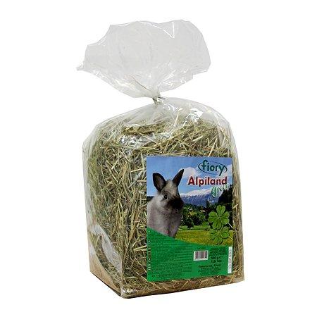 Сено для грызунов Fiory Alpiland Green альпийское с люцерной 500г