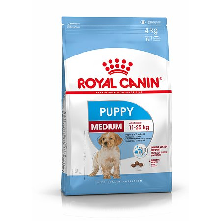Корм для щенков ROYAL CANIN Puppy средних пород 15кг