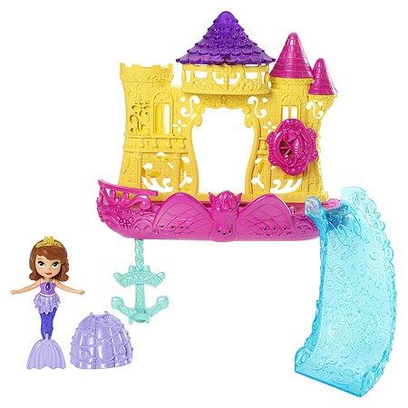 Набор для купания Sofia Плавающий замок Принцессы
