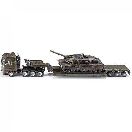 Тягач с танком SIKU в масштабе 1:87