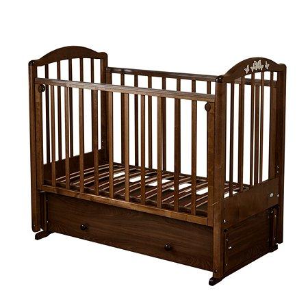 Кровать детская Красная Звезда (Можга) Регина С580 шоколад
