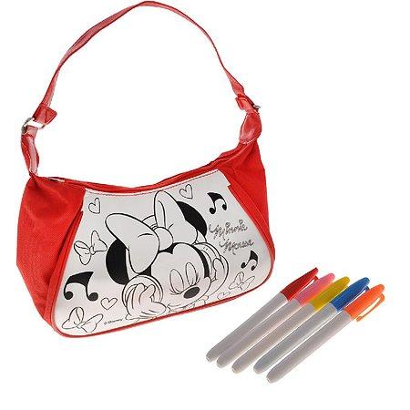 Набор для росписи Disney сумка + фломастеры Минни